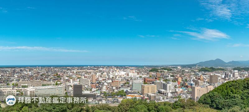 鳥取県内にある不動産の調査
